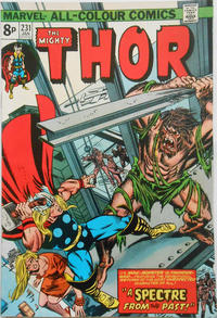 Cover Thumbnail for Thor (Marvel, 1966 series) #231 [British]