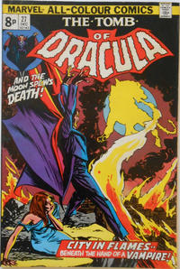 Cover Thumbnail for Tomb of Dracula (Marvel, 1972 series) #27 [British]