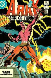Cover Thumbnail for Arak / Son of Thunder (DC, 1981 series) #26 [Direct]