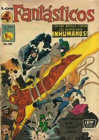 Cover Thumbnail for Los 4 Fantásticos (Editora de Periódicos La Prensa S.C.L., 1962 series) #126