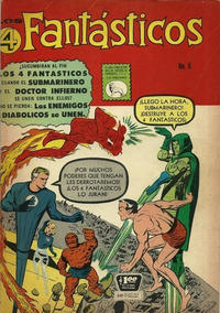 Cover Thumbnail for Los 4 Fantásticos (Editora de Periódicos La Prensa S.C.L., 1962 series) #6