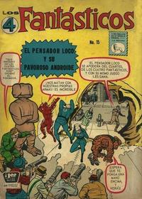 Cover Thumbnail for Los 4 Fantásticos (Editora de Periódicos La Prensa S.C.L., 1962 series) #15