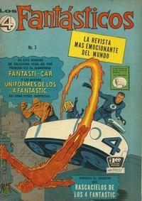 Cover Thumbnail for Los 4 Fantásticos (Editora de Periódicos La Prensa S.C.L., 1962 series) #3