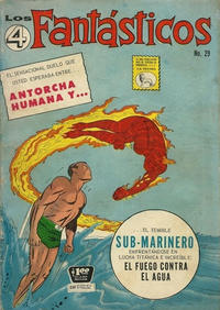 Cover Thumbnail for Los 4 Fantásticos (Editora de Periódicos La Prensa S.C.L., 1962 series) #29