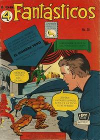 Cover Thumbnail for Los 4 Fantásticos (Editora de Periódicos La Prensa S.C.L., 1962 series) #28