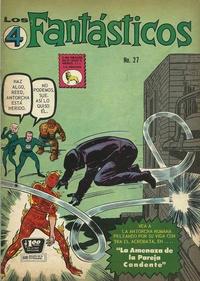 Cover Thumbnail for Los 4 Fantásticos (Editora de Periódicos La Prensa S.C.L., 1962 series) #27