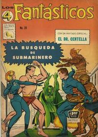 Cover Thumbnail for Los 4 Fantásticos (Editora de Periódicos La Prensa S.C.L., 1962 series) #39