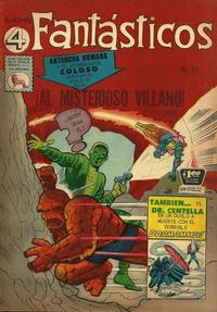 Cover Thumbnail for Los 4 Fantásticos (Editora de Periódicos La Prensa S.C.L., 1962 series) #53