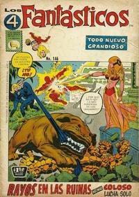 Cover Thumbnail for Los 4 Fantásticos (Editora de Periódicos La Prensa S.C.L., 1962 series) #146