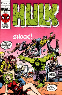 Cover Thumbnail for Hulk (Interpresse, 1984 series) #1/1985