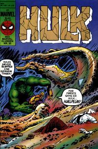 Cover Thumbnail for Hulk (Interpresse, 1984 series) #2/1985