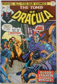 Cover Thumbnail for Tomb of Dracula (Marvel, 1972 series) #25 [British]