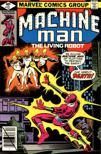 Cover Thumbnail for Machine Man (Marvel, 1978 series) #12 [Direct]