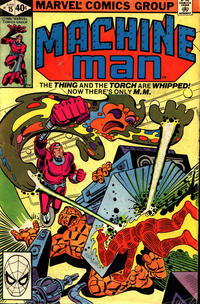 Cover Thumbnail for Machine Man (Marvel, 1978 series) #15 [Direct]