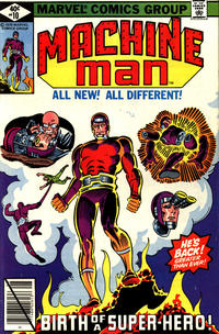 Cover Thumbnail for Machine Man (Marvel, 1978 series) #10 [Direct]