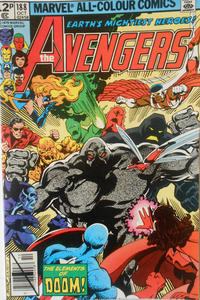 Cover for The Avengers (Marvel, 1963 series) #188 [Direct Edition]