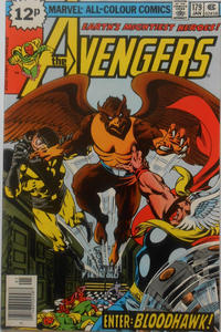 Cover Thumbnail for The Avengers (Marvel, 1963 series) #179 [British]