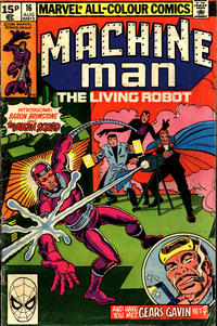 Cover Thumbnail for Machine Man (Marvel, 1978 series) #16 [British]