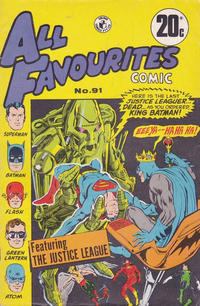 Cover Thumbnail for All Favourites Comic (K. G. Murray, 1960 series) #91