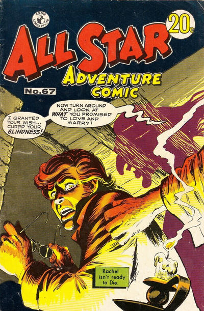 Cover for All Star Adventure Comic (K. G. Murray, 1959 series) #67