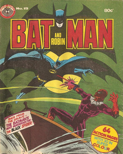 Cover for Batman and Robin (K. G. Murray, 1976 series) #19