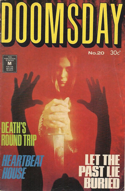 Cover for Doomsday (K. G. Murray, 1972 series) #20