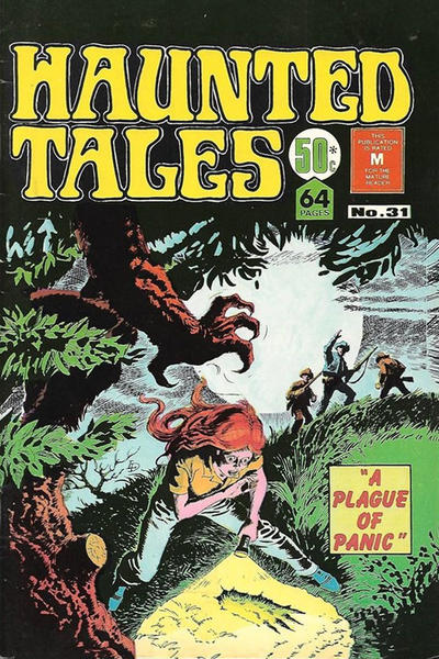 Cover for Haunted Tales (K. G. Murray, 1973 series) #31