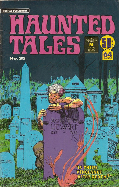 Cover for Haunted Tales (K. G. Murray, 1973 series) #35