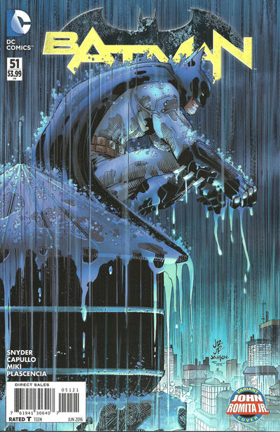 Cover for Batman (DC, 2011 series) #51 [John Romita Jr. Cover]