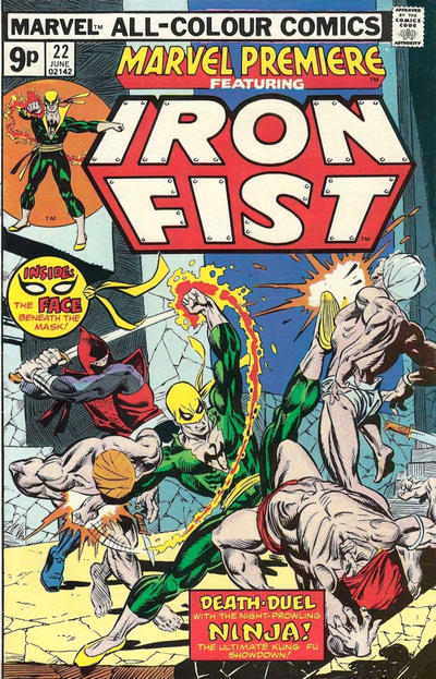 Cover for Marvel Premiere (Marvel, 1972 series) #22 [British]