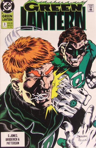 Cover for Green Lantern (DC, 1990 series) #3 [Direct Edition]