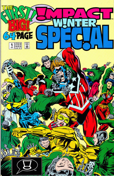 Cover for Impact Christmas Special (DC, 1991 series) #1