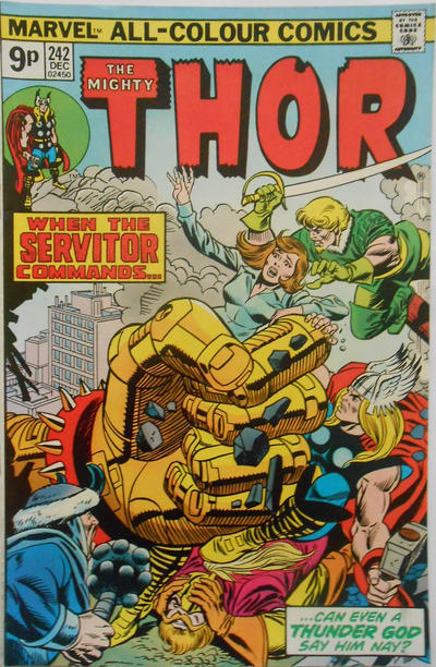 Cover for Thor (Marvel, 1966 series) #242 [Regular Edition]