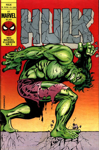 Cover for Hulk (Interpresse, 1984 series) #10/1984