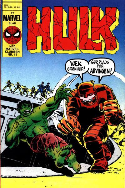 Cover for Hulk (Interpresse, 1984 series) #12/1984