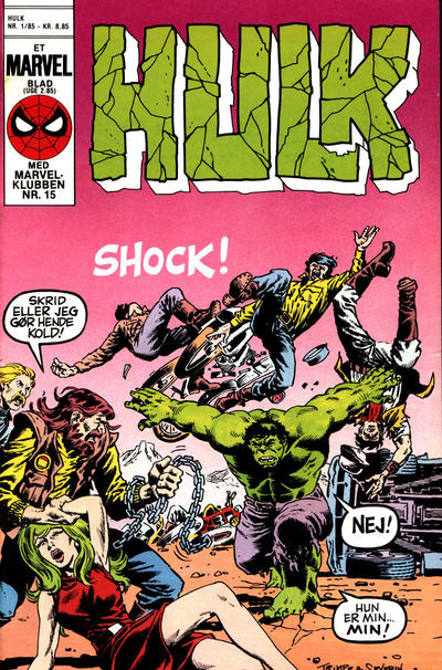 Cover for Hulk (Interpresse, 1984 series) #1/1985
