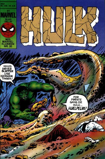Cover for Hulk (Interpresse, 1984 series) #2/1985