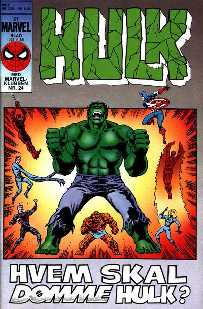 Cover for Hulk (Interpresse, 1984 series) #3/1985
