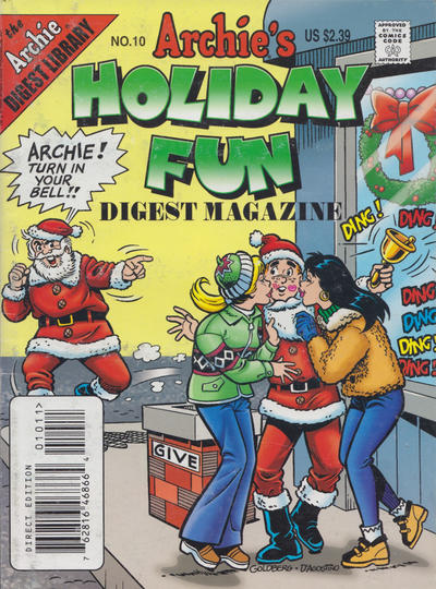 Cover for Archie's Holiday Fun Digest (Archie, 1997 series) #10 [Direct]