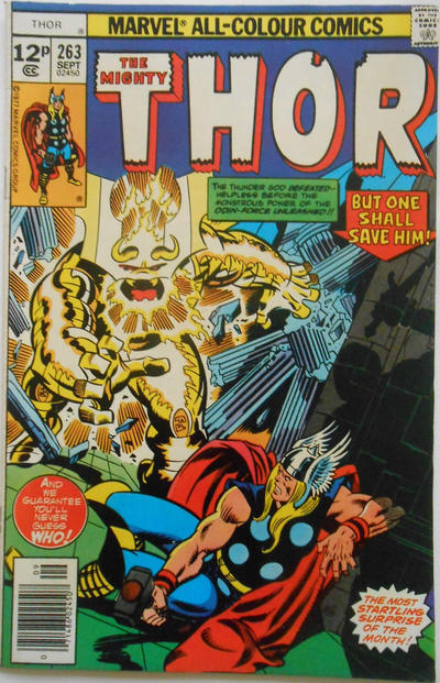 Cover for Thor (Marvel, 1966 series) #263 [30¢]
