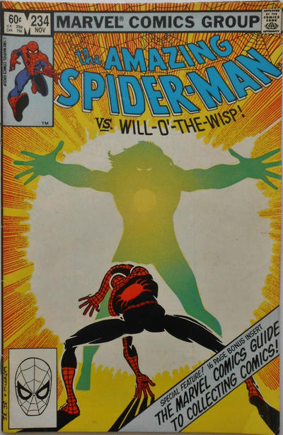 Cover for The Amazing Spider-Man (Marvel, 1963 series) #234 [Direct Edition]