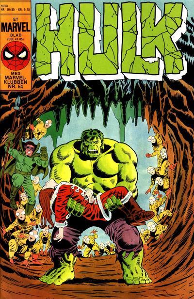 Cover for Hulk (Interpresse, 1984 series) #10/1985