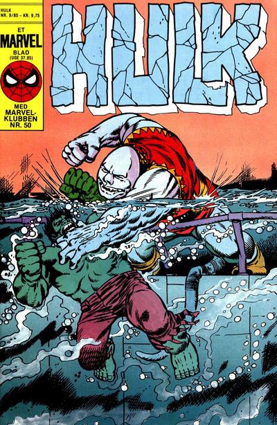 Cover for Hulk (Interpresse, 1984 series) #9/1985