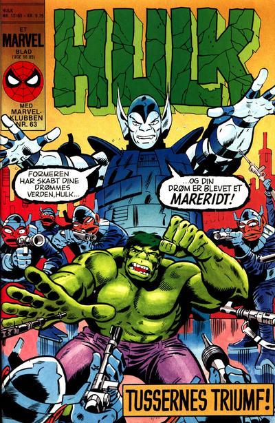 Cover for Hulk (Interpresse, 1984 series) #12/1985