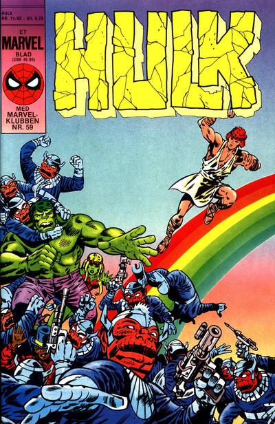 Cover for Hulk (Interpresse, 1984 series) #11/1985
