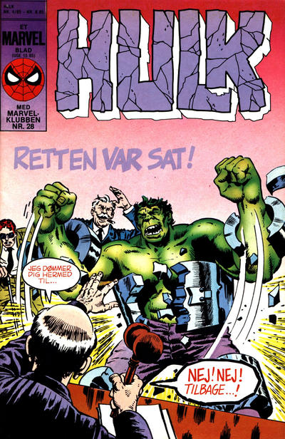 Cover for Hulk (Interpresse, 1984 series) #4/1985