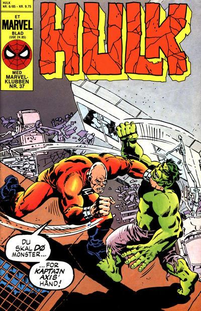 Cover for Hulk (Interpresse, 1984 series) #6/1985