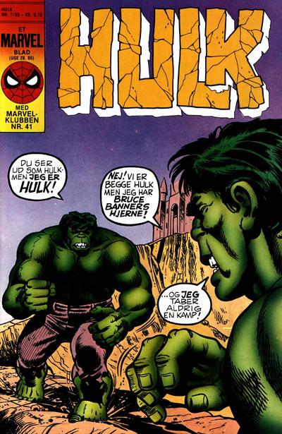 Cover for Hulk (Interpresse, 1984 series) #7/1985