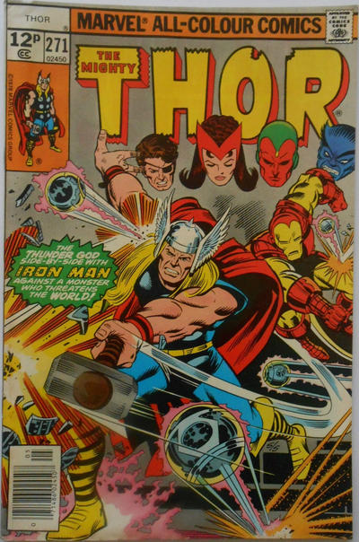Cover for Thor (Marvel, 1966 series) #271 [Regular Edition]