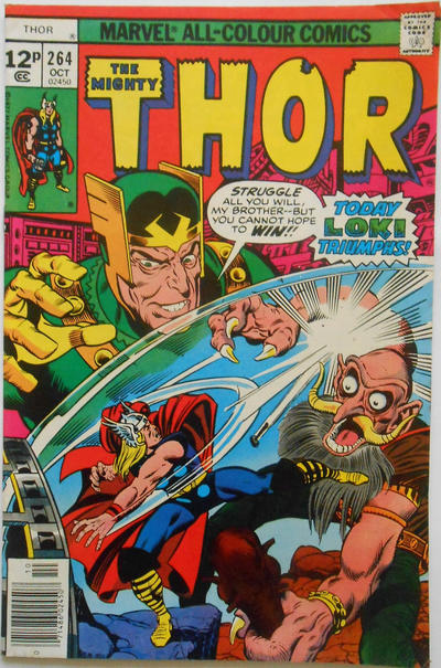 Cover for Thor (Marvel, 1966 series) #264 [35¢]